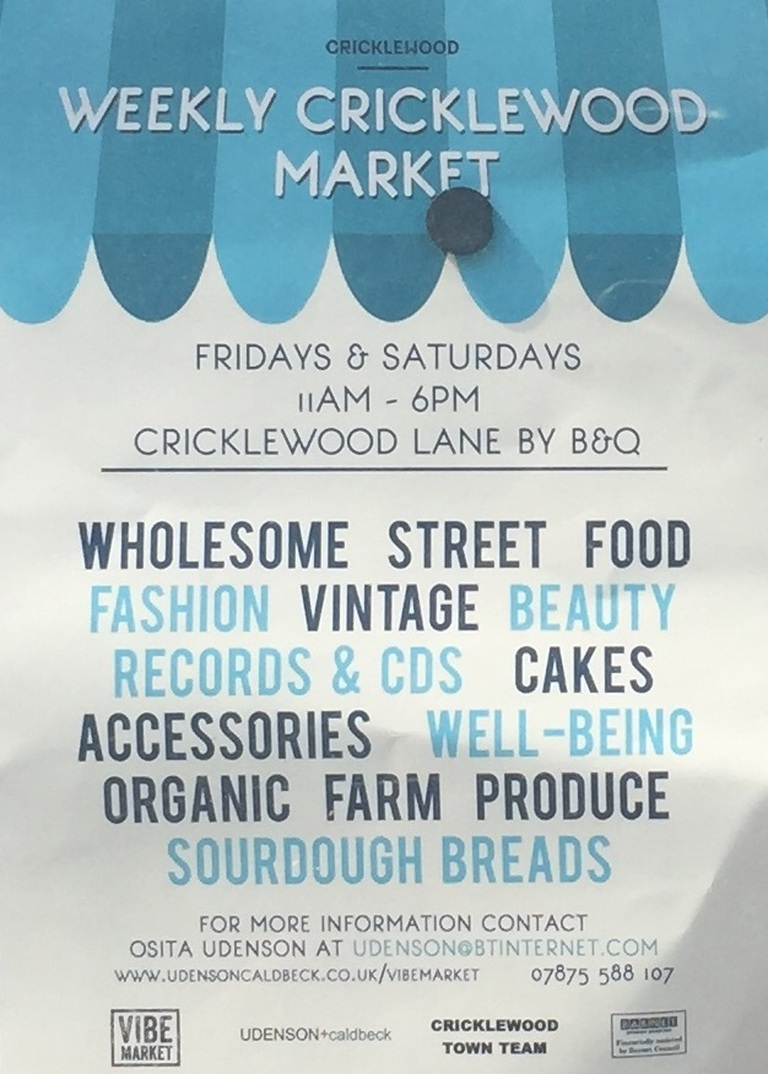 Weekly Cricklewood Market