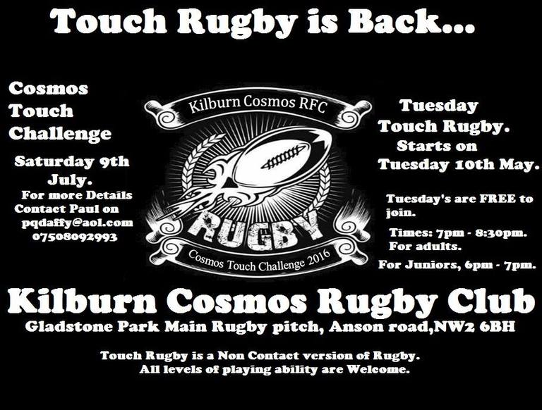 Touch Rugby Is Back